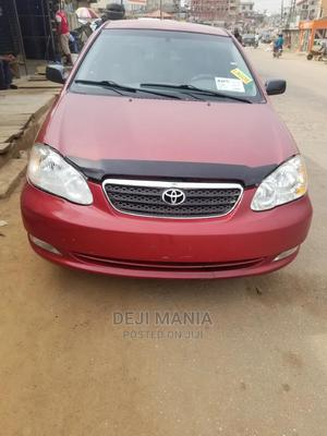 Toyota Corolla 2005 LE Red | Cars for sale in Lagos State, Ikeja