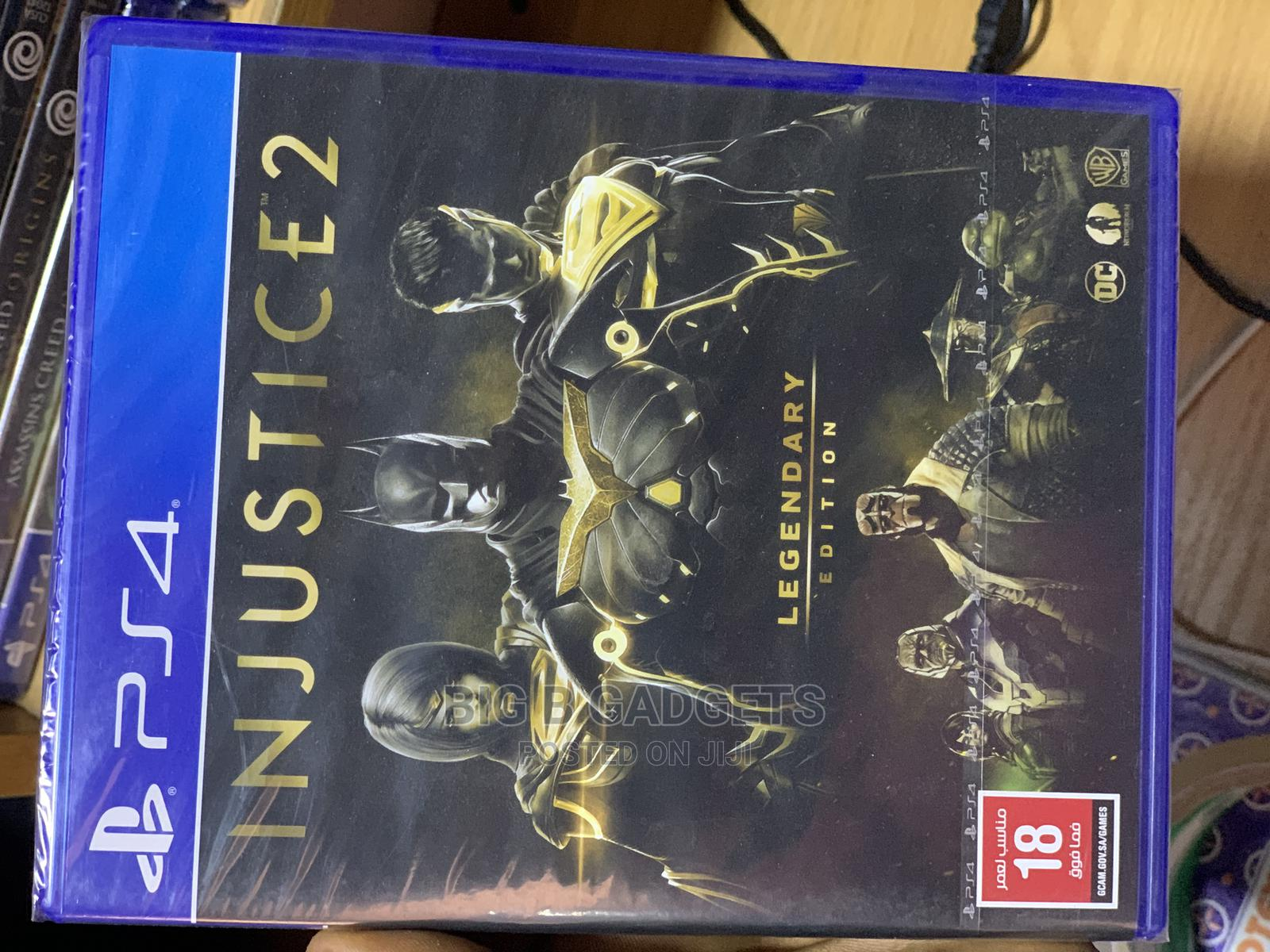 Archive: Injustice 2 PS4 Games Legendary Edition