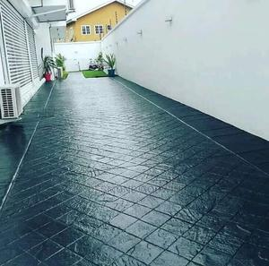 Concrete Stamp Floor | Building & Trades Services for sale in Rivers State, Obio-Akpor