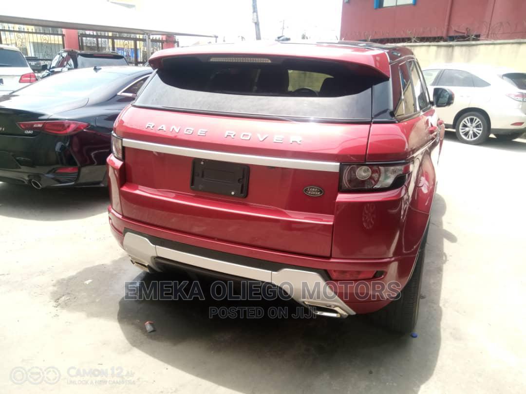 Land Rover Range Rover Evoque 2013 Pure Plus AWD Red | Cars for sale in Amuwo-Odofin, Lagos State, Nigeria