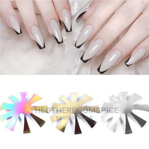Nail Design Cutter French Nails Curved Acrylic Steel Design   Tools & Accessories for sale in Lagos State, Yaba