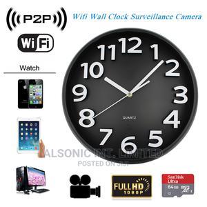 Wall Clocks APP Wifi Spy Camera Wireless Hidden Nanny Camera | Security & Surveillance for sale in Abuja (FCT) State, Wuse