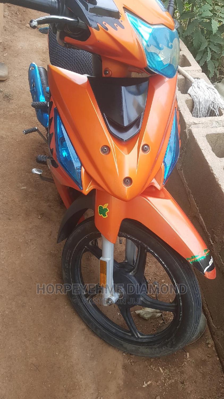 Haojue HJ110-5 2020 Orange