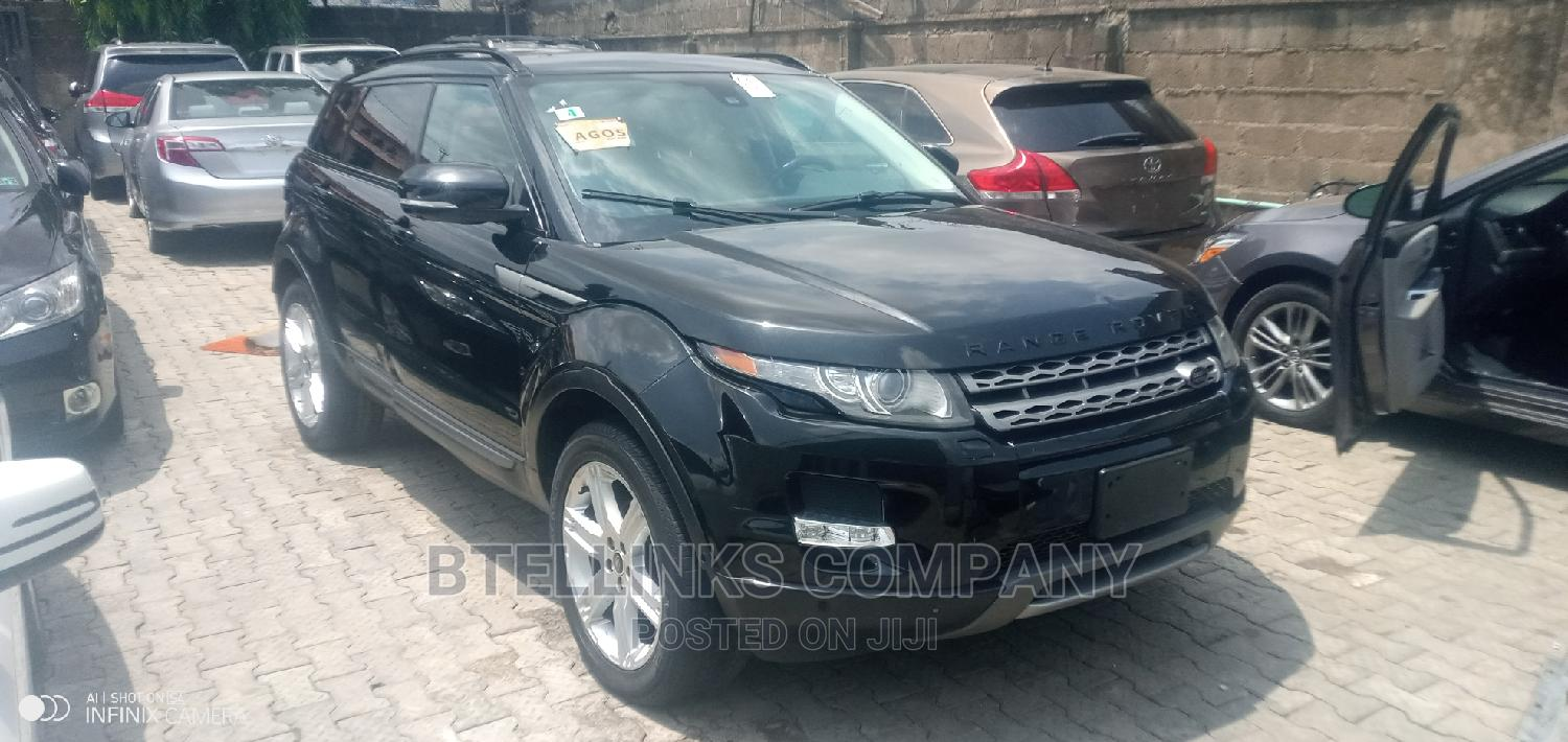 Land Rover Range Rover Evoque 2013 Pure AWD 5-Door Black | Cars for sale in Ikeja, Lagos State, Nigeria