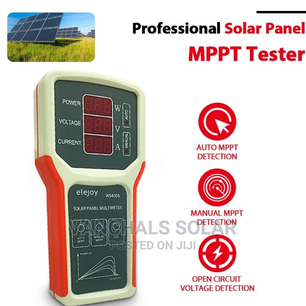 Solar Panel Meter Tester/Multimeter   Measuring & Layout Tools for sale in Ifako-Ijaiye, Lagos State, Nigeria