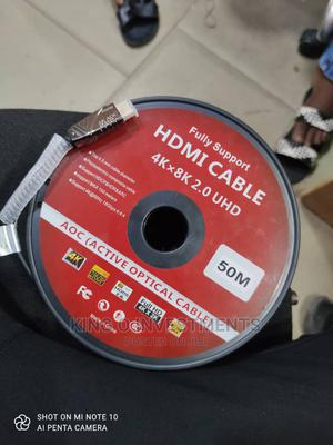 HDMI 4k 50m Cable   Computer Accessories  for sale in Lagos State, Ikeja