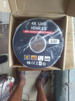 4K Uhd HDMI Cable, 50M | Accessories & Supplies for Electronics for sale in Lagos State, Yaba