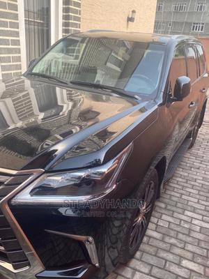 New Lexus LX 2020 570 Three-Row Black   Cars for sale in Lagos State, Lekki