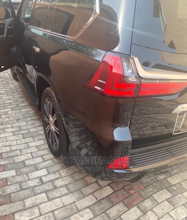 New Lexus LX 2020 570 Three-Row Black   Cars for sale in Lekki, Lagos State, Nigeria