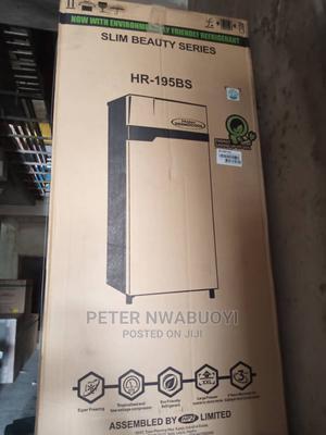 Haier Thermocool Single Door Refrigerator HR-195BS R6 | Kitchen Appliances for sale in Lagos State, Ikorodu