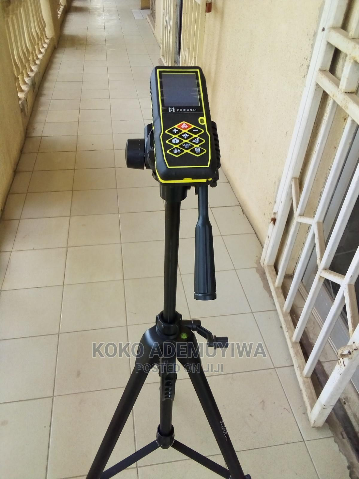 Outdoor Laser Meter With Camera + Tripod   Measuring & Layout Tools for sale in Central Business Dis, Abuja (FCT) State, Nigeria