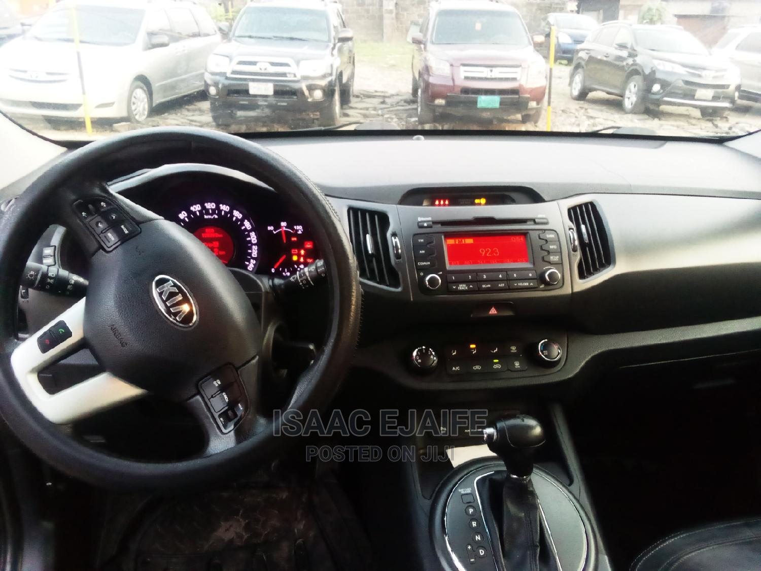 Kia Sportage 2014 EX 4dr SUV (2.4L 4cyl 6A) Black | Cars for sale in Port-Harcourt, Rivers State, Nigeria