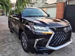 Lexus LX 2009 570 Black   Cars for sale in Lagos State, Ojota
