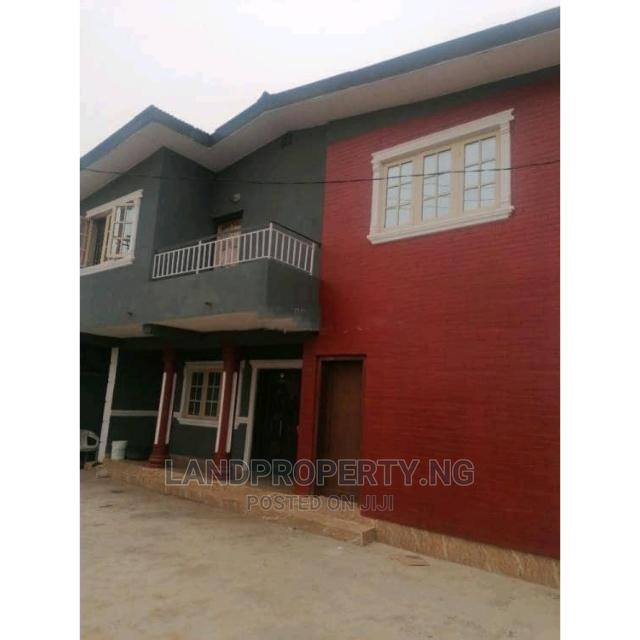4 Bedroom Detached Duplex for Sale Off Ogba Busstop, Ogba | Houses & Apartments For Sale for sale in Ikeja, Lagos State, Nigeria