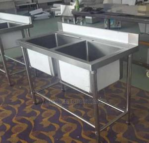 Double Bowl Sink | Restaurant & Catering Equipment for sale in Lagos State, Ojo