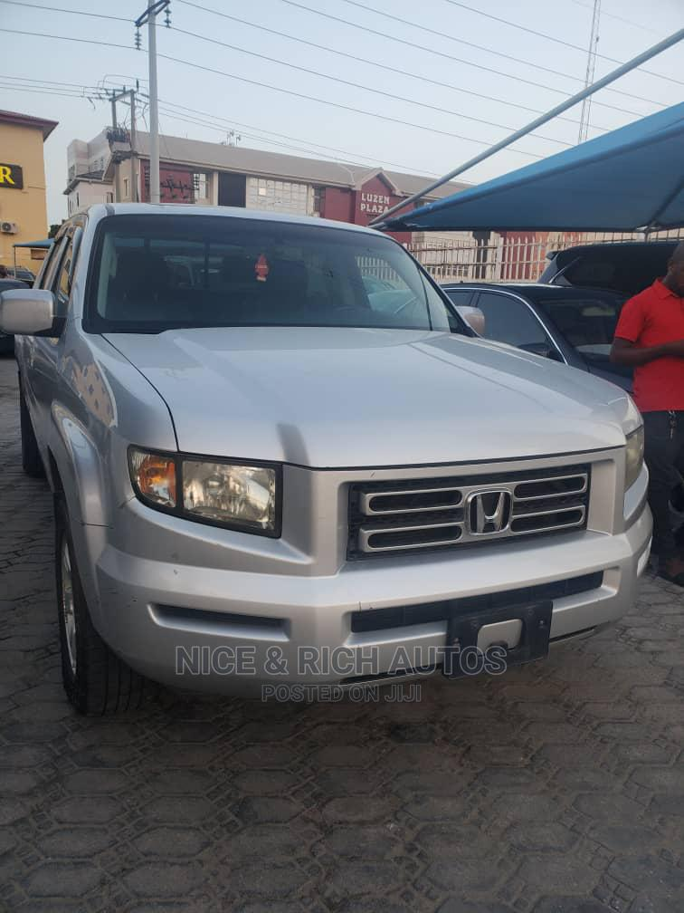 Honda Ridgeline 2008 Gray | Cars for sale in Lekki, Lagos State, Nigeria