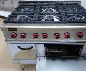6 Burner Gas Cooker Stove   Restaurant & Catering Equipment for sale in Lagos State, Surulere