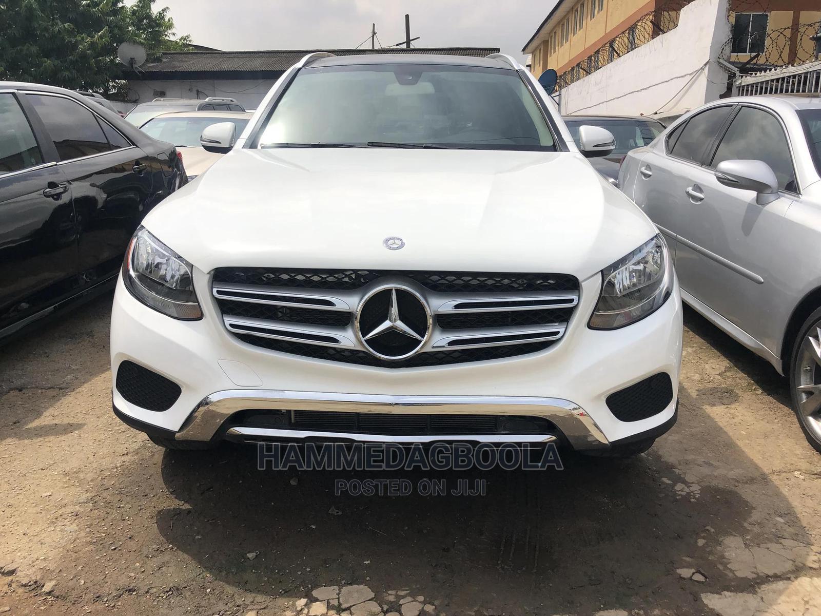 Mercedes-Benz GLC-Class 2016 White