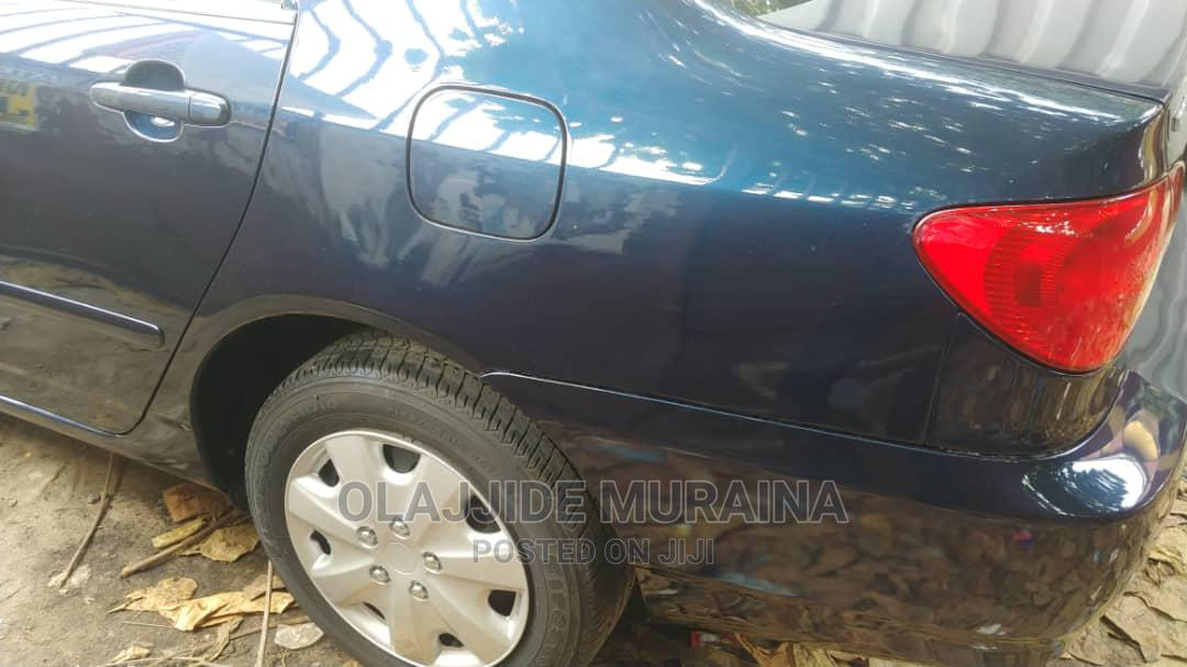 Toyota Corolla 2004 1.4 Blue | Cars for sale in Surulere, Lagos State, Nigeria
