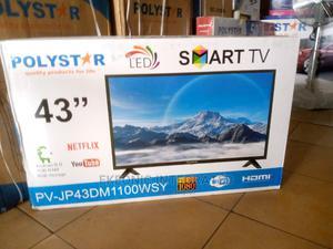 Polystar 43 Smart Led Tv   TV & DVD Equipment for sale in Rivers State, Port-Harcourt