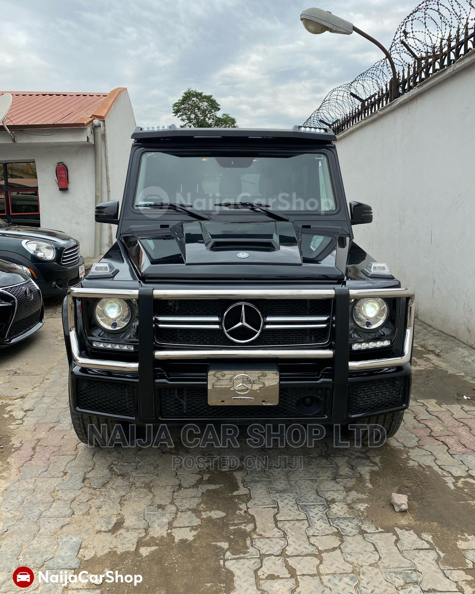 Mercedes-Benz G-Class 2016 Base G 550 AWD Black | Cars for sale in Ikeja, Lagos State, Nigeria