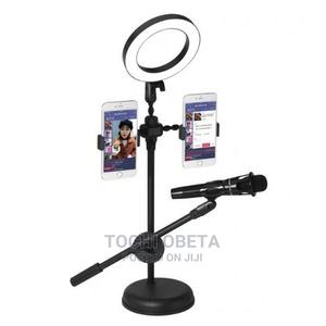 Mobile Phone Ring Light and Mic Stand   Accessories & Supplies for Electronics for sale in Lagos State, Ikeja