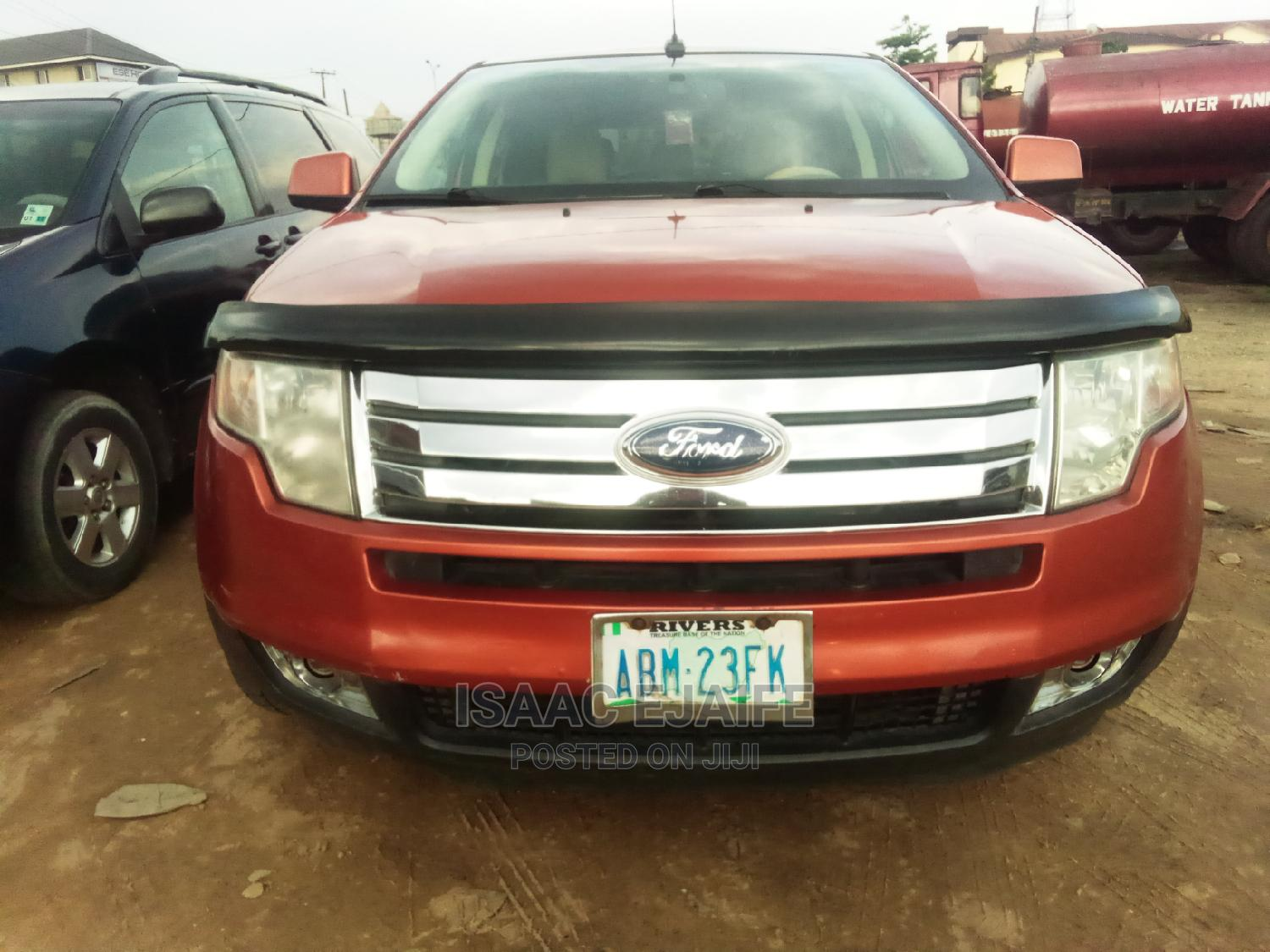 Ford Edge 2008 Orange