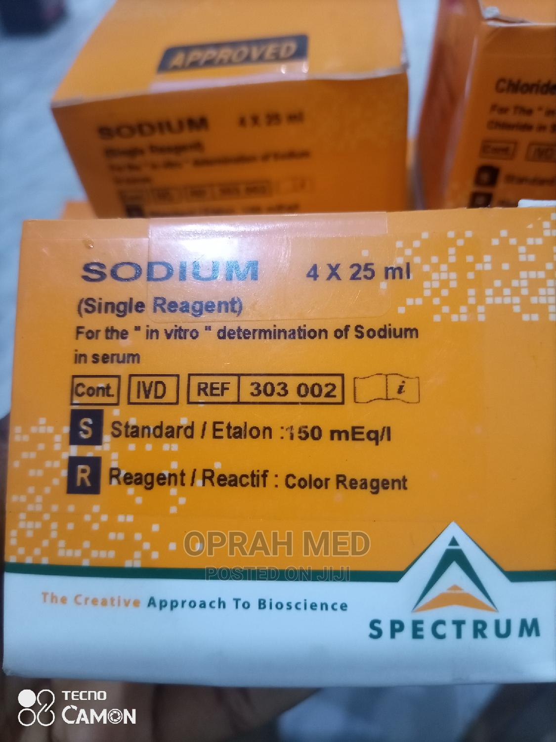 Spectrum Reagents   Medical Supplies & Equipment for sale in Wuse, Abuja (FCT) State, Nigeria