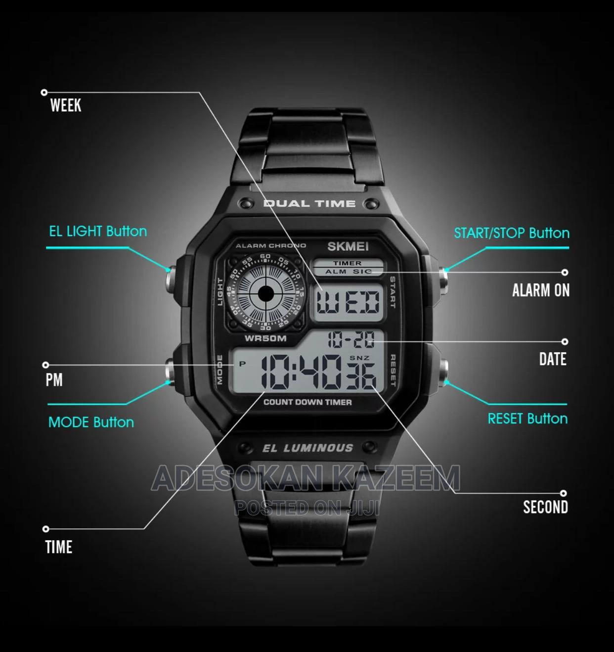 Archive: SKMEI Digital Waterproof Sport Watch