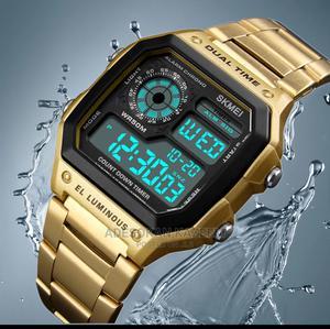 SKMEI Digital Waterproof Sport Watch | Watches for sale in Lagos State, Ikeja