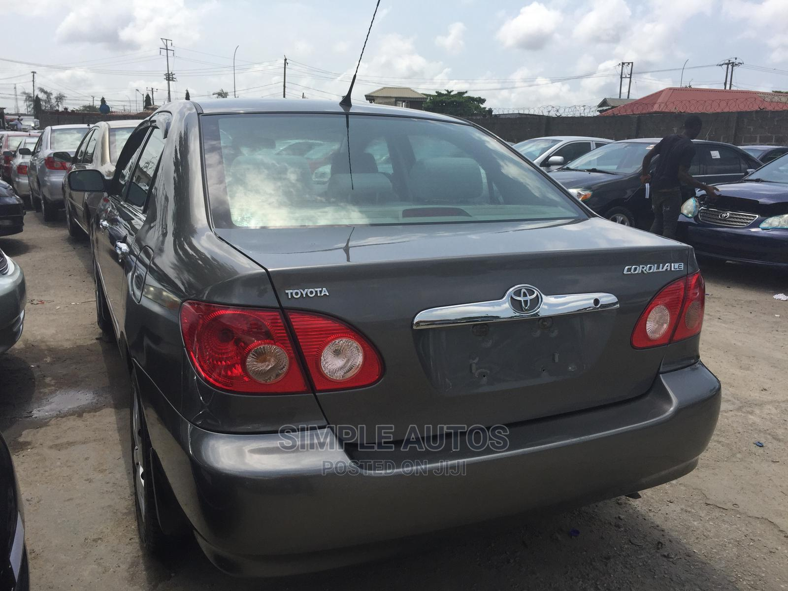 Toyota Corolla 2005 LE Gray | Cars for sale in Apapa, Lagos State, Nigeria