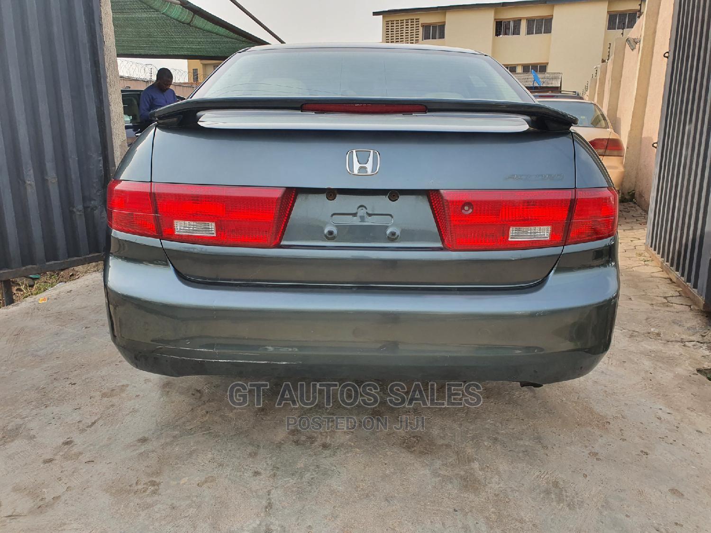 Honda Accord 2005 Sedan EX Automatic Green   Cars for sale in Ikeja, Lagos State, Nigeria