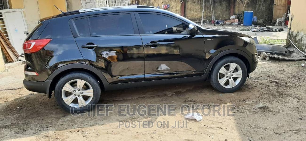 Kia Sportage 2012 Black | Cars for sale in Amuwo-Odofin, Lagos State, Nigeria