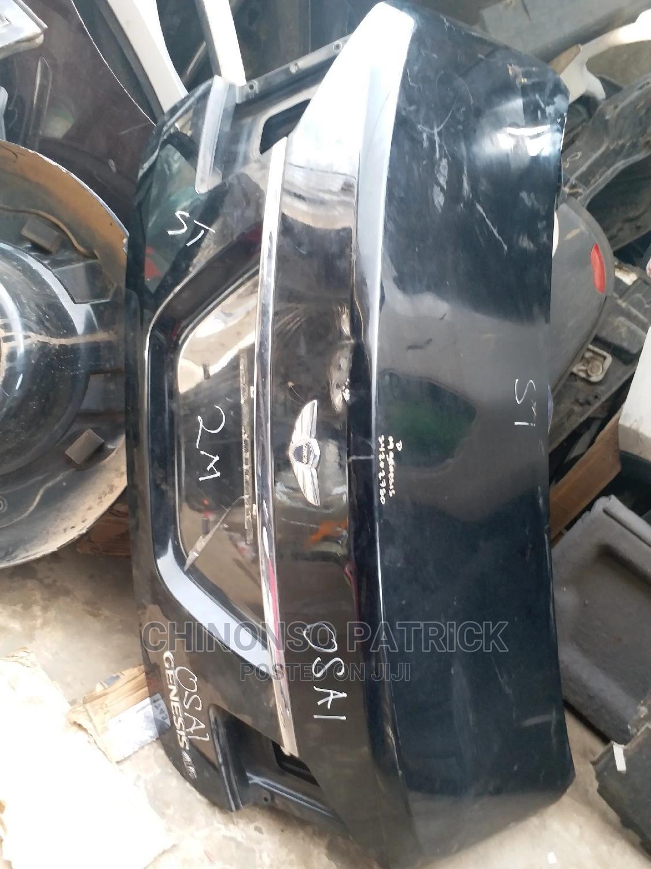Boot (Trunk) for Hyundai Genesis 2012 Model