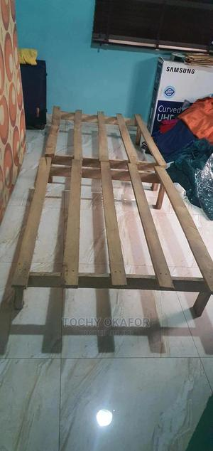 Double Wooden Mattress Support   Furniture for sale in Lagos State, Ajah
