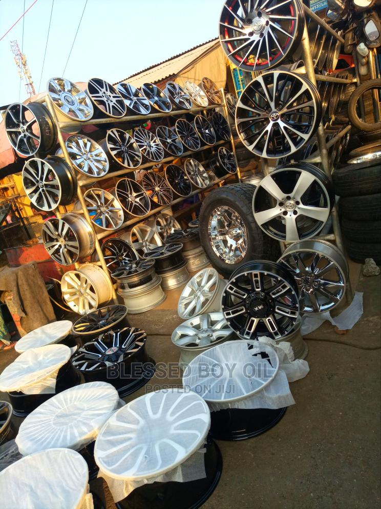 All Types of Rims Available