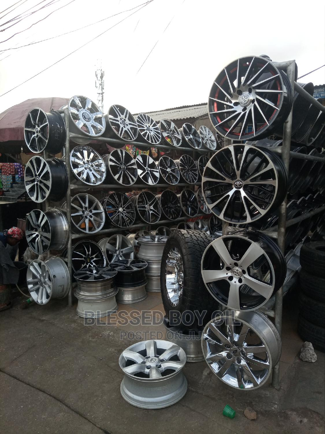 All Types of Rims Available | Vehicle Parts & Accessories for sale in Mushin, Lagos State, Nigeria