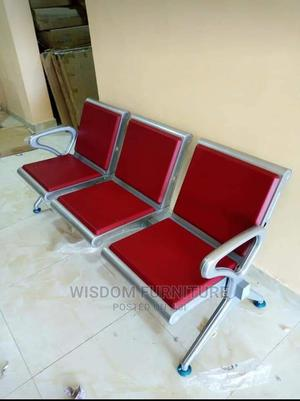 Executive Airport Chair With Fiber 3 in the 1   Furniture for sale in Lagos State, Ojo