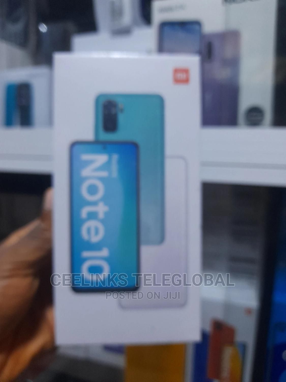 New Xiaomi Redmi Note 10 128 GB Blue   Mobile Phones for sale in Ikeja, Lagos State, Nigeria