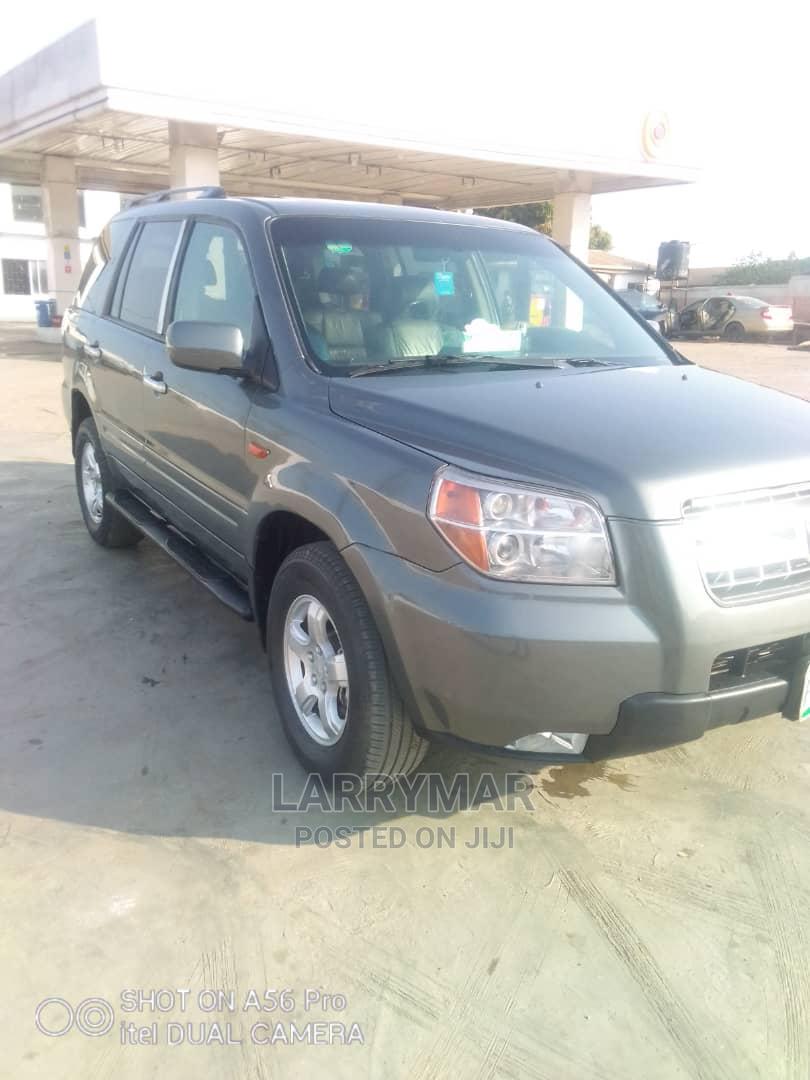 Honda Pilot 2007 EX 4x4 (3.5L 6cyl 5A) Gray   Cars for sale in Ejigbo, Lagos State, Nigeria