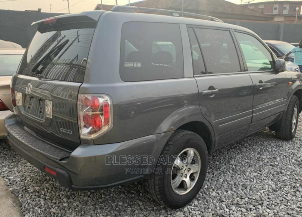 Honda Pilot 2008 Gray | Cars for sale in Ogba, Lagos State, Nigeria