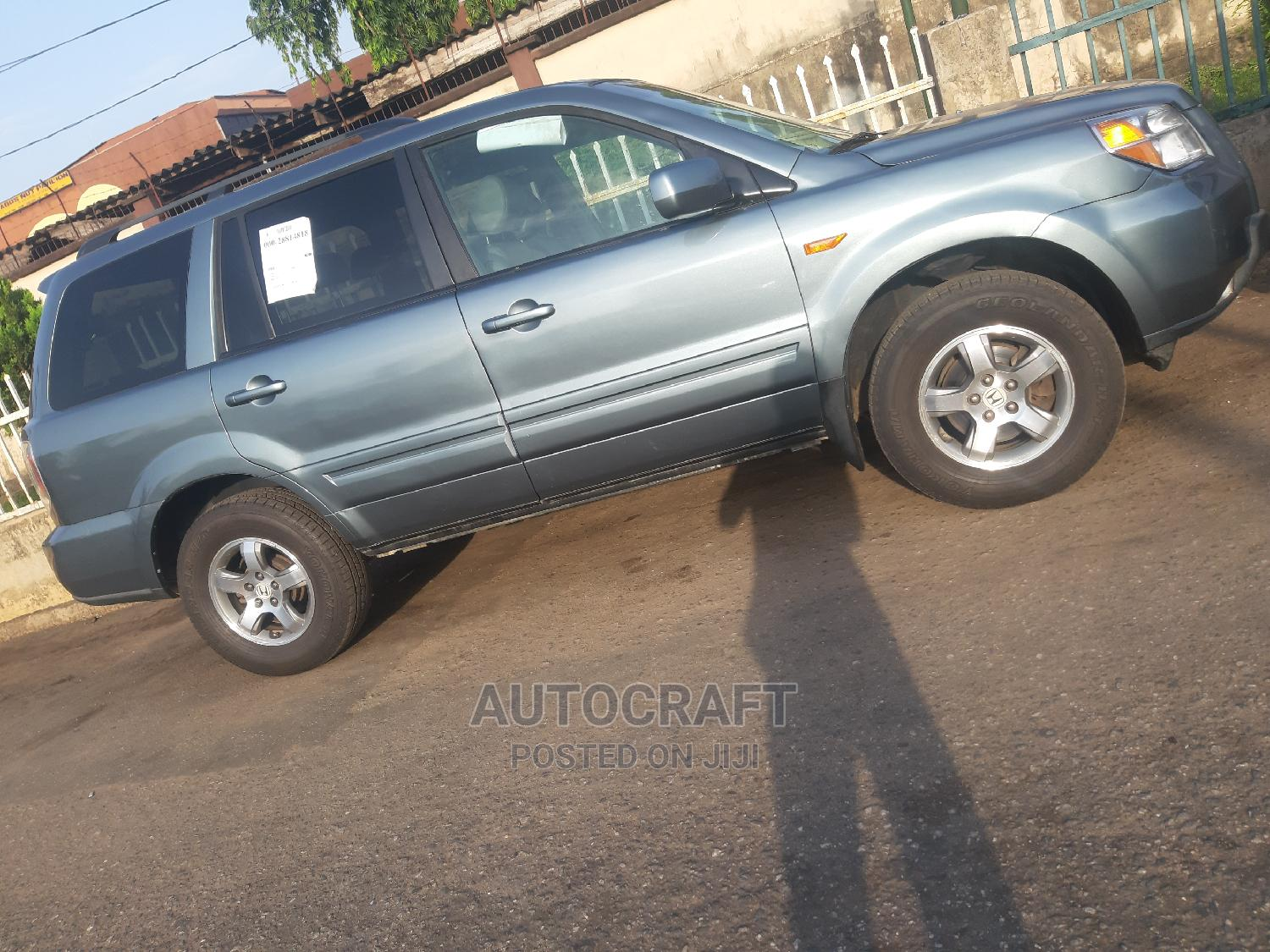 Honda Pilot 2007 Gray | Cars for sale in Ikeja, Lagos State, Nigeria
