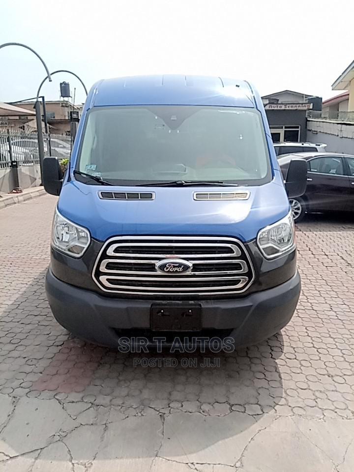 Ford Transit 2016 Blue