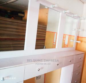 3-In-1 Makeup Table/Cabinet With Mirrors and Lights   Furniture for sale in Edo State, Benin City