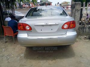 Toyota Corolla 2004 Sedan Automatic Silver | Cars for sale in Lagos State, Ifako-Ijaiye
