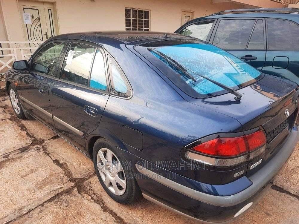 Mazda 626 2002 Blue