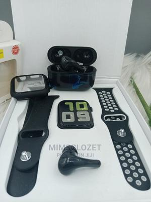 T55+ Latest Series 6 Fitpro Smartwatch With Earbuds | Smart Watches & Trackers for sale in Abuja (FCT) State, Central Business District