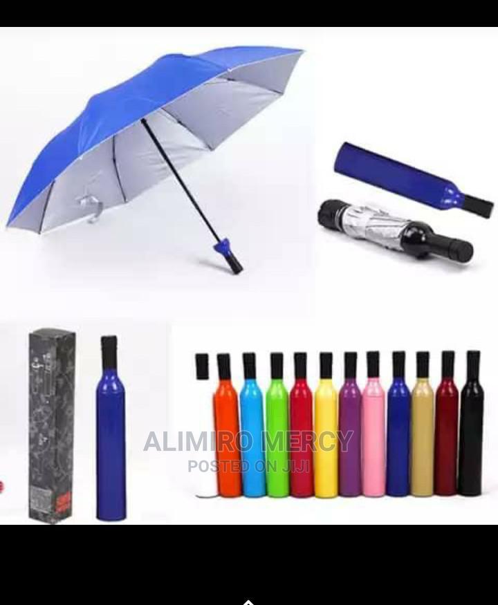 Archive: Bottle Wine Fancy Umbrella