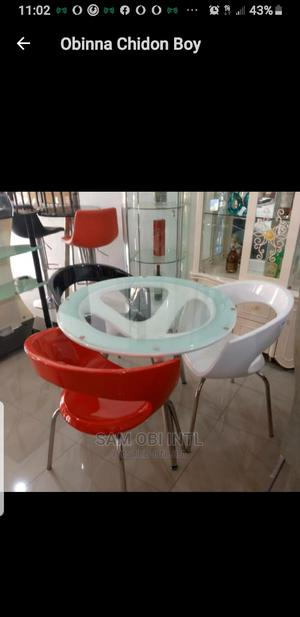 Mini Canteen Table by Three Chairs   Furniture for sale in Lagos State, Lekki