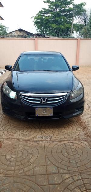 Honda Accord 2011 Sedan EX Automatic Black | Cars for sale in Lagos State, Ikorodu